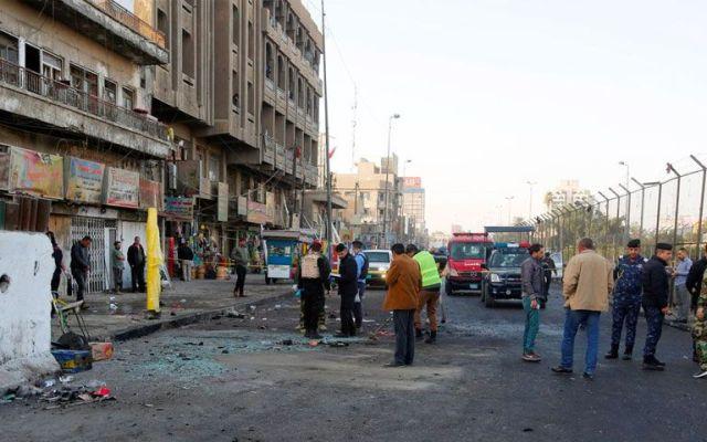Atentados suicidas dejan 38 muertos en Bagdad - Foto de @ajplus