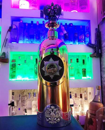 Encuentran botella robada con valor de 1.3 mdd pero sin vodka - Foto de EFE