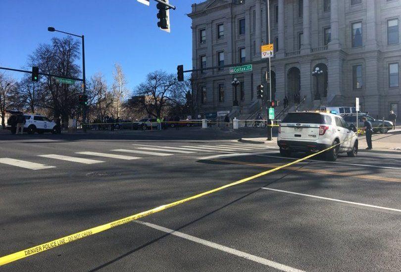 Cierran Capitolio de Colorado por tiroteo - Foto: Denver Post