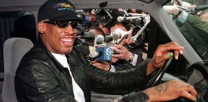 Duerme en la cárcel Dennis Rodman por conducir ebrio - Foto de AFP