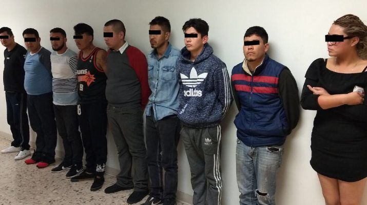 Detienen en Chihuahua a 10 presuntos sicarios