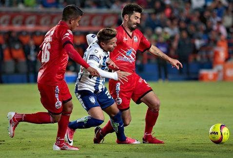 Jugador de Lobos denuncia robo en estadio de Pachuca - Foto de Internet
