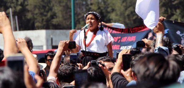 """""""No me siento derrotada, la lucha indígena continuará"""": Marichuy"""