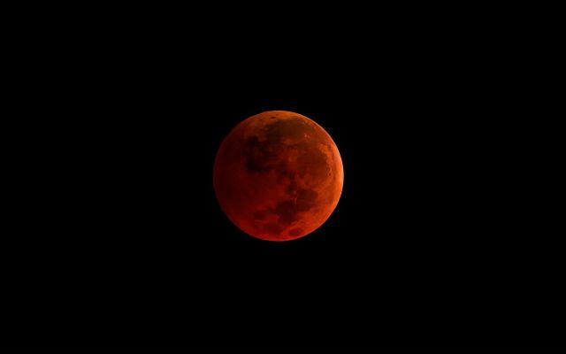 ¿Cómo podrás ver la superluna azul de sangre? - Foto: NASA