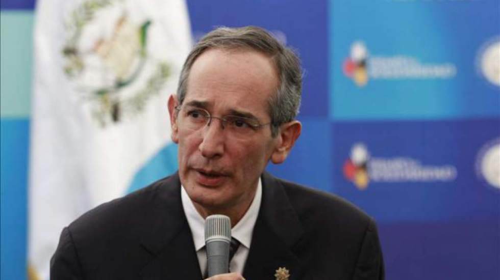 Capturan a expresidente de Guatemala por corrupción - Foto de Diario La Prensa