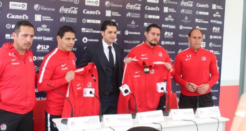 Atlético de San Luis presenta a 'Poncho' Sosa como nuevo entrenador - Foto: @AtletideSanLuis