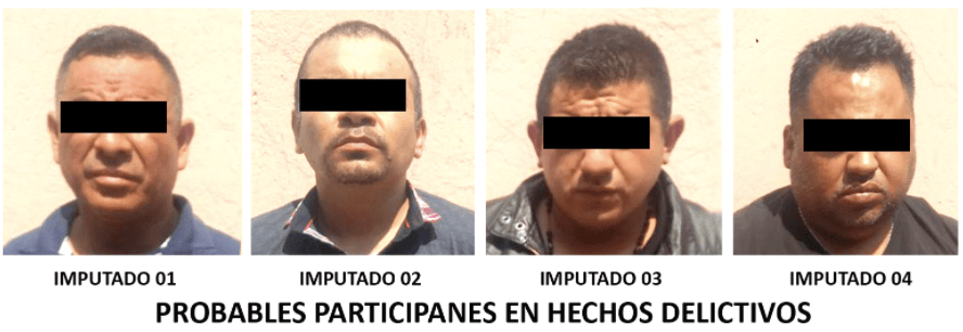 #VIDEO detienen a cuatro por robo con violencia en Miguel Hidalgo - Foto de PGJ