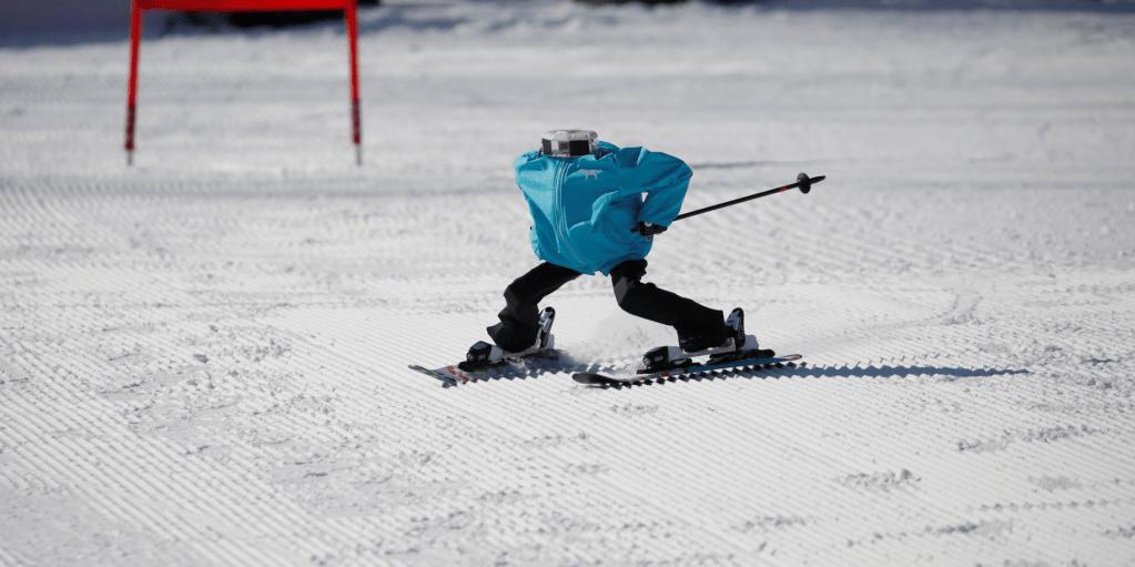 #Video Corea del Sur organiza esquí robótico en Juegos de Invierno