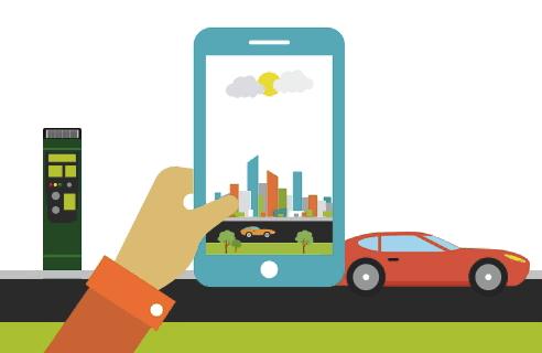 Pago de parquímetro se podrá realizar mediante apps