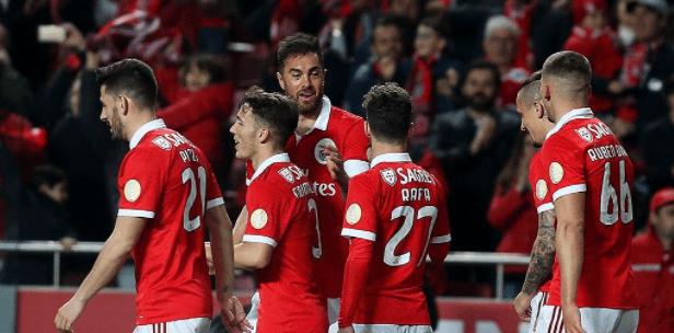 #Video Jiménez consigue el cuarto del Benfica