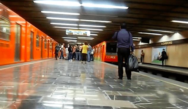 Detienen a hombre en Metro Chabacano por abuso sexual