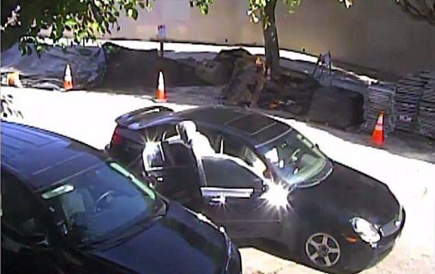 #VIDEO Delincuente atropella a su cómplice cuando intentaba huir - Captura de pantalla