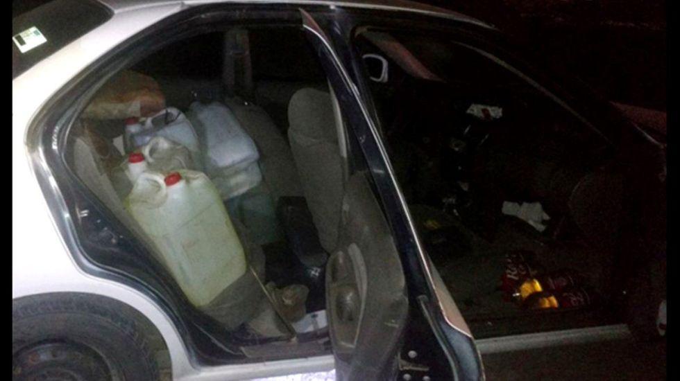 Detienen a policía en Edomex por robo de combustible - Foto de SSEM
