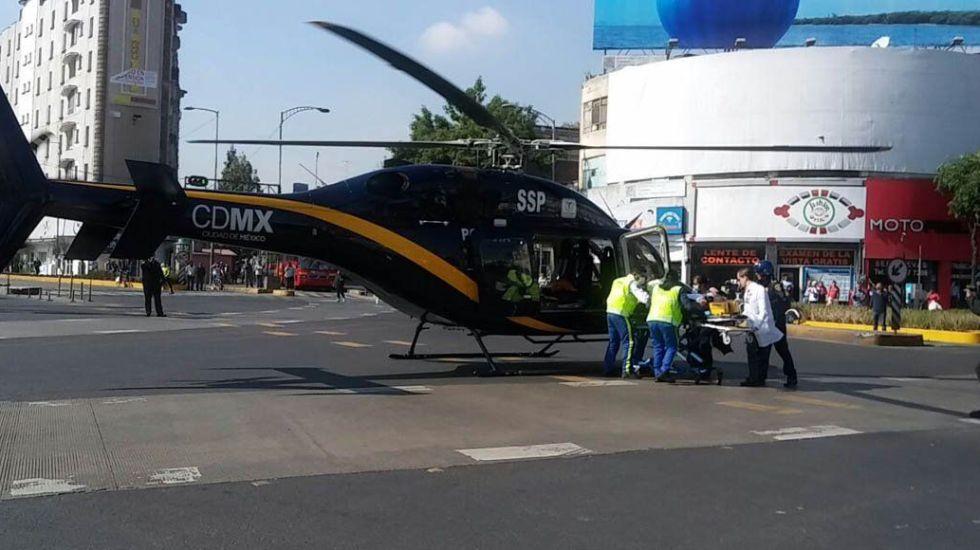 Hieren a policía que intentó detener a automovilista en Azcapotzalco - Foto de Quadratín