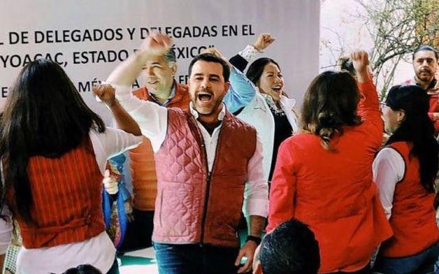 Eduardo Capetillo, candidato para el municipio de Ocoyoacac por el PRI - Foto de Instagram