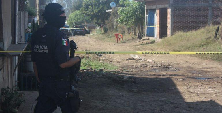Balacera deja dos muertos en Uruapan - Foto de Quadratín