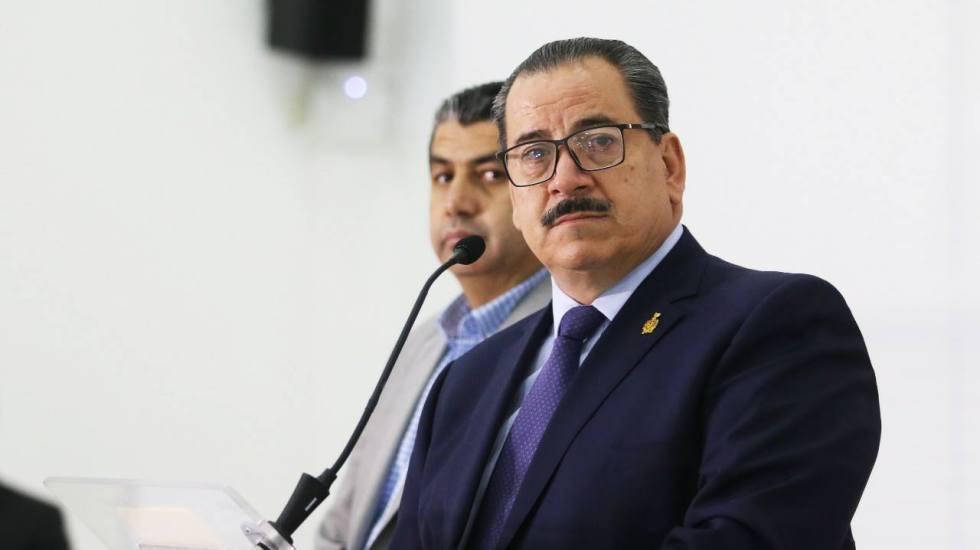 Investiga Fiscalía de Jalisco antecedentes de italianos desaparecidos - Raúl Sánchez Jiménez, fiscal general de Jalisco durante la conferencia de prensa. Foto: Facebok.