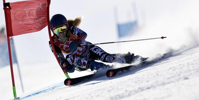 Tras resbalar en prueba, mexicana termina participación en PyeongChang