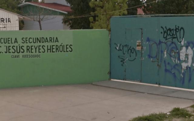 Estudiante acuchilla a su compañero en secundaria de Durango - Captura de Google Maps