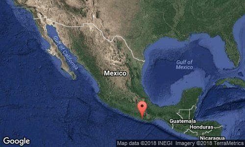 Sismo magnitud 6.0 sacude México