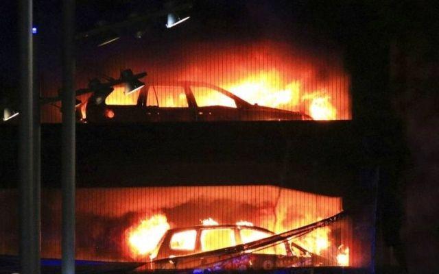Muere calcinado tras choque en Puebla - Foto de Internet