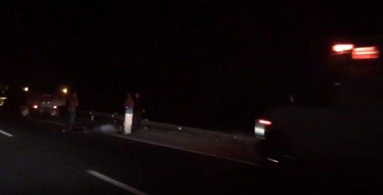 Muere hombre en accidente de tránsito en autopista Pátzcuaro-Cuitzeo - Foto de Quadratín
