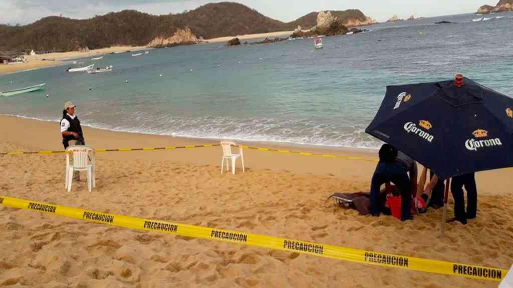 Hombre muere ahogado en playa de Oaxaca - Foto de Quadratín