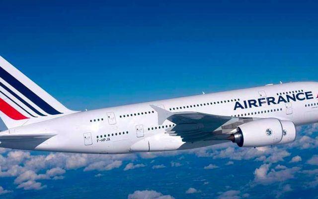 Air France cancela vuelo a México por huelga