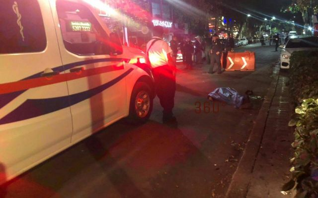 Asesinan a hombre en Cuauhtémoc - Foto de @Delta25MX