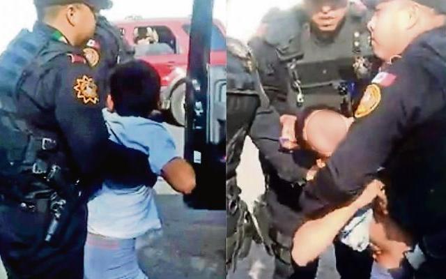 #Video Detienen a niño de 10 años por robo en Nuevo León - Foto de Internet