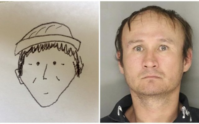 Identifican a ladrón mediante dibujo de testigo - Foto de Lancaster City Bureau of Police