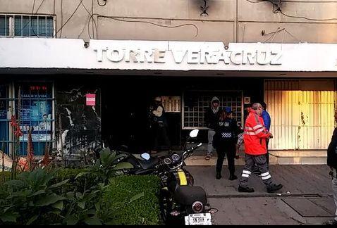 Caída de elevador deja cuatro lesionados en Tlatelolco - Foto de Milenio