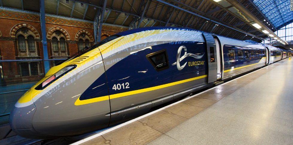 Eurostar anuncia nueva ruta Londres-Países Bajos