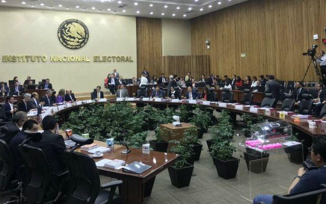 Avala INE a siete independientes para el Senado - Foto de @INEMexico.