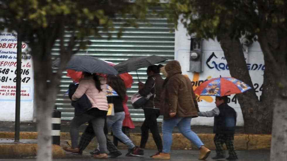 Frente frío aumentará potencial de lluvias en el noreste del país - Foto de Notimex