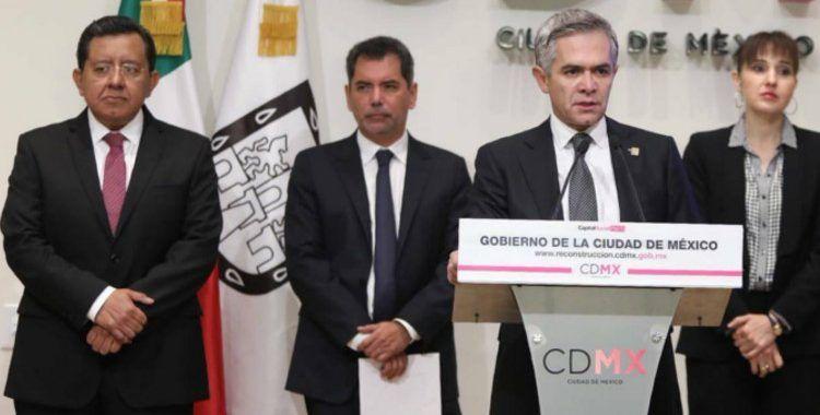 Gobierno de la Ciudad de México asegurará viviendas tras sismo