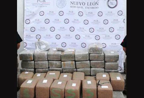 Aseguran 430 kilos de mariguana en Nuevo León - Foto de Internet