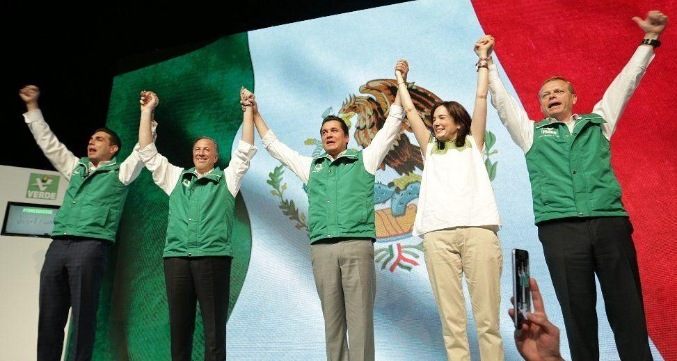 Partido Verde ratifica a Meade como su candidato a la presidencia