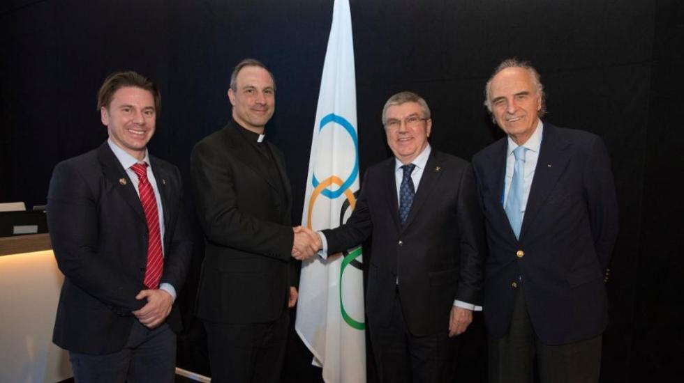 El Vaticano podría sumarse al COI - Foto de Internet