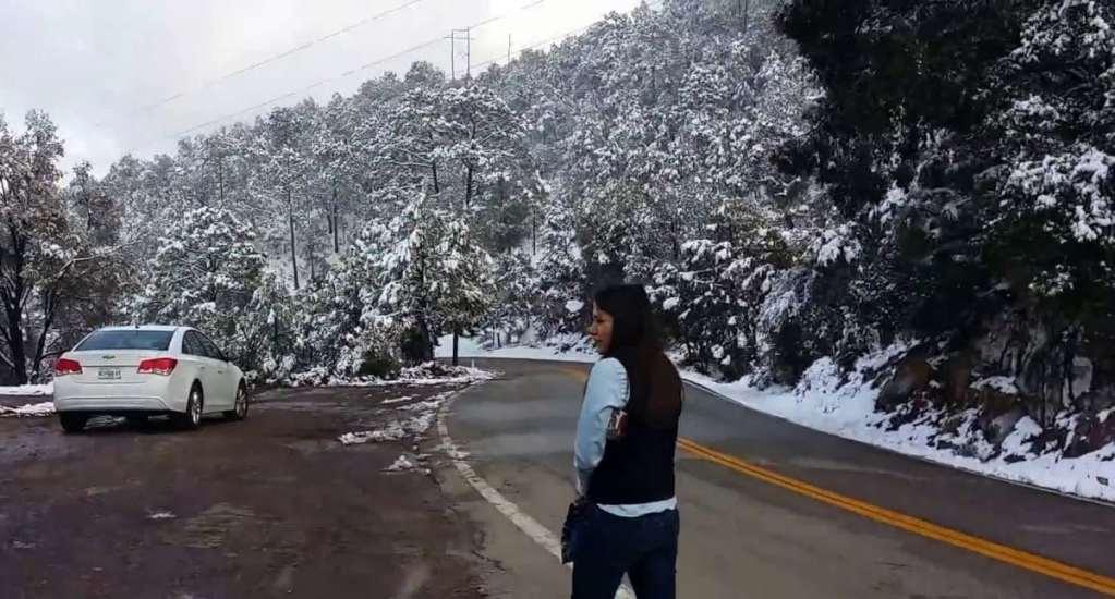Prevén caída de nieve en 11 estados del país. Noticias en tiempo real