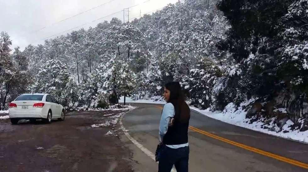 Prevén caída de nieve en 11 estados del país - Foto de internet