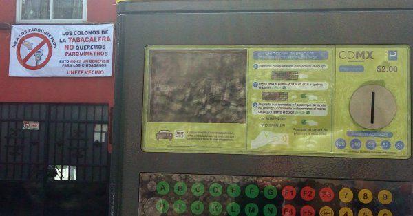 Fijan horarios de parquímetros en las colonias Cuauhtémoc y Juárez