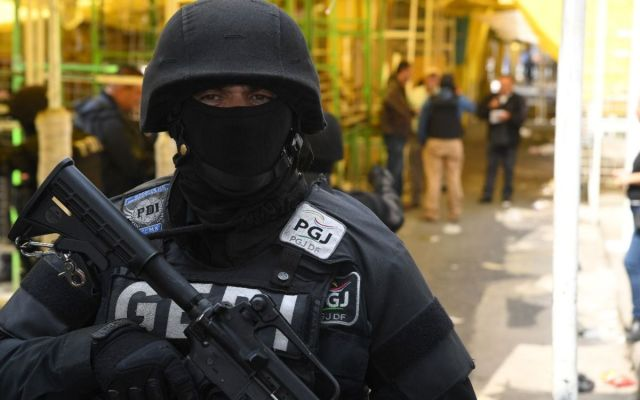 Cateo en colonia Morelos deja cuatro detenidos - Foto: PGJ CDMX.
