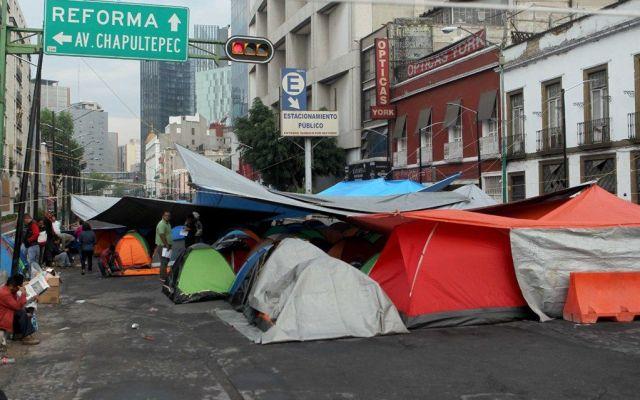 Plantón de la CNTE provoca pérdidas por más de 45 mdp en la Ciudad de México - Foto de Internet