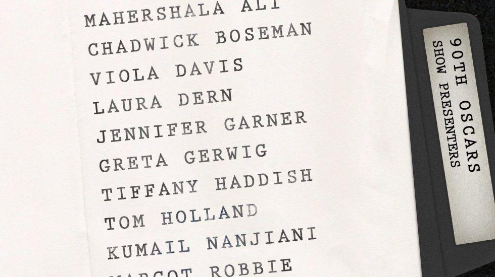 La Academia anuncia a los primeros presentadores de los Óscar