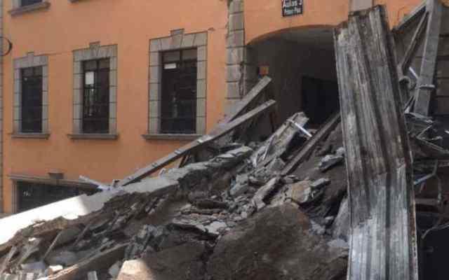 Sin avance investigación por derrumbe en Tec de Monterrey - Foto de Regeneración