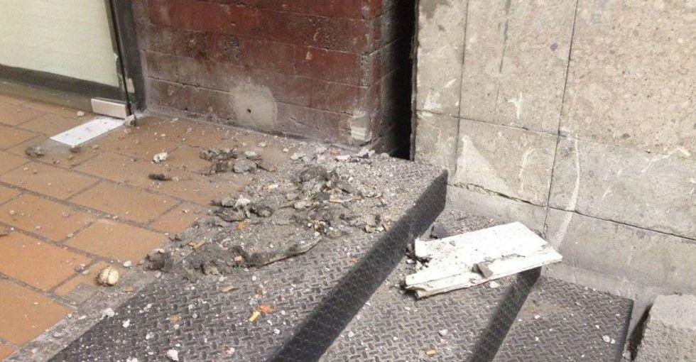 Presenta Cámara de Diputados daños menores tras sismo - Foto: Quadratín