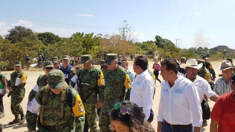 Ejército reitera responsabilidad por desplome de helicóptero en Oaxaca - Foto de @S_Cienfuegos_Z