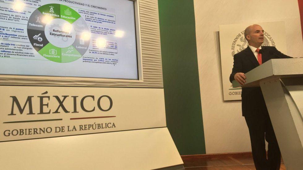 Existen tres riesgos para la economía del país: Hacienda