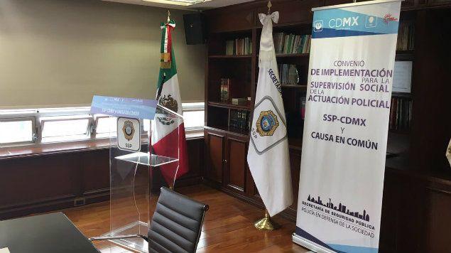 Causa en Común cancela convenio con SSP por incumplimiento de acuerdos - Foto de @causaencomun